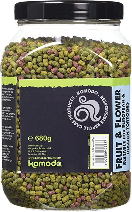 Komodo U45333 680g Fruit and Flower Flavor Tortoise Food