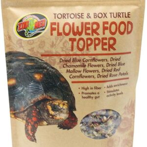 Zoomed flower topper turtle & tortoise food