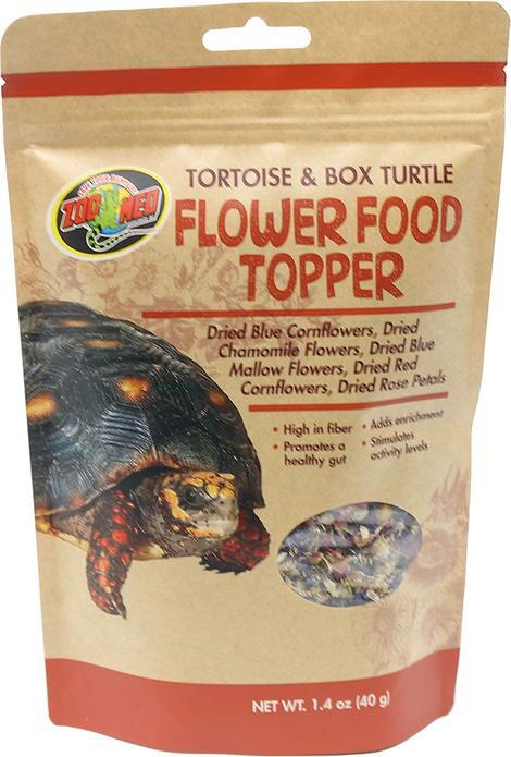 Zoomed flower topper turtle & tortoise food